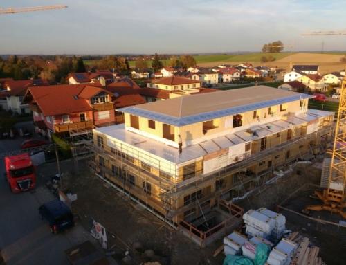 Mehrfamilienhaus in Brettsperrholz-Bauweise
