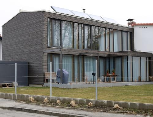 Einfamilienhaus in Holzständer-Bauweise